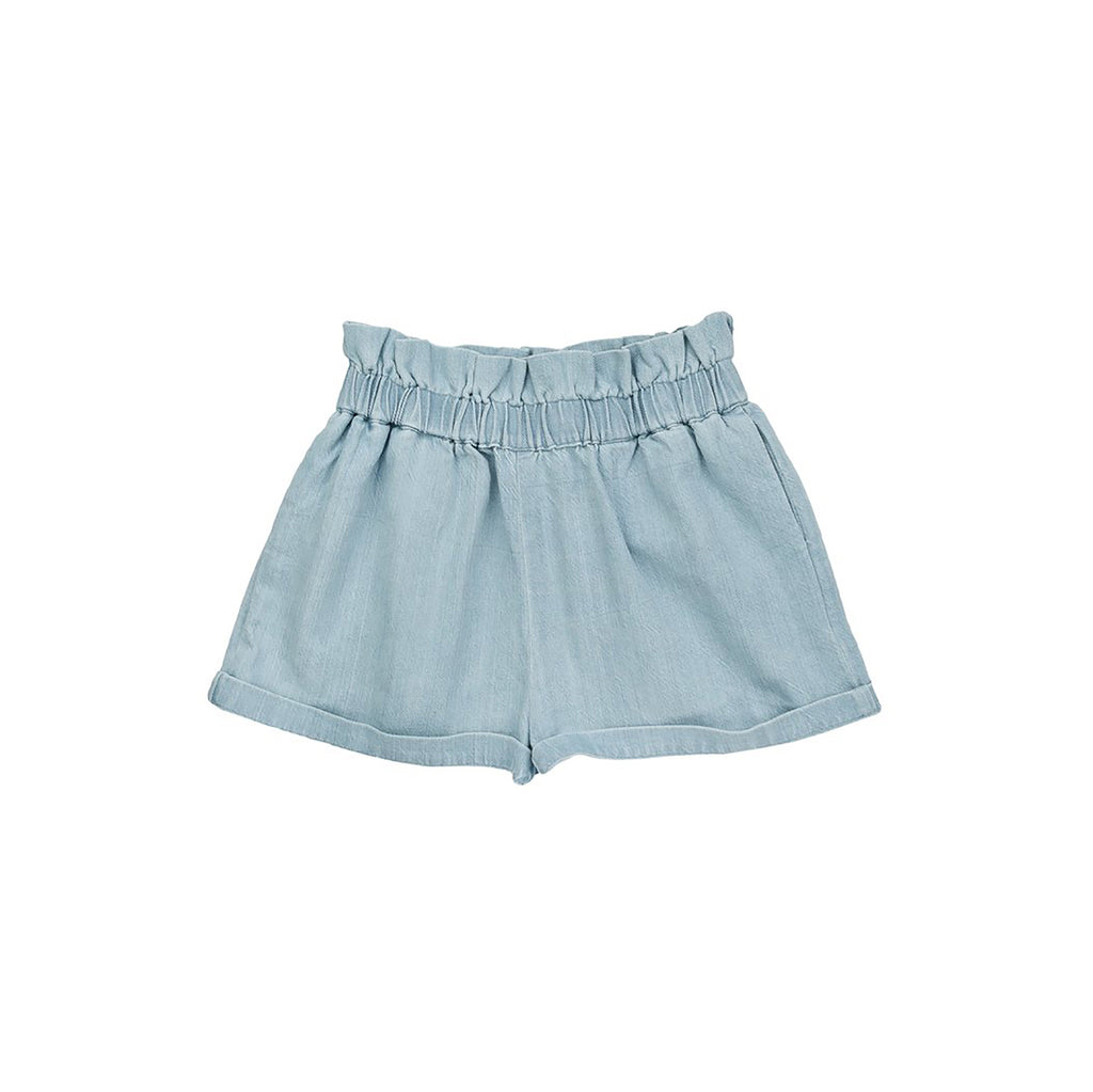 Ketiketa Simone Kid's Organic Light Denim Shorts | BIEN BIEN www.bienbienshop.com