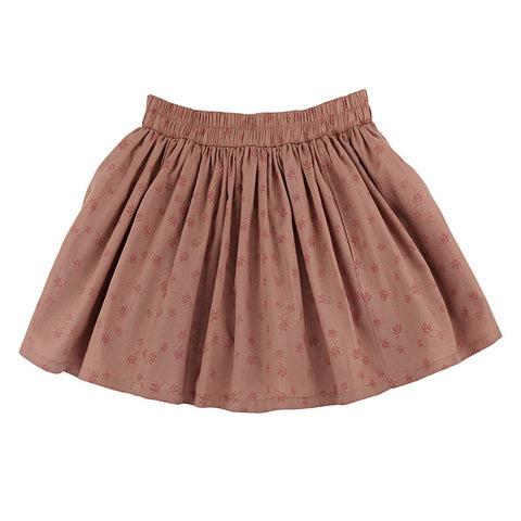 Ketiketa Meera Girl's Skirt in Japanese Maple Leaves | BIEN BIEN