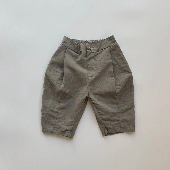 Korean Apparel - Latte Kid's Trouser Stone Grey | BIEN BIEN bienbienshop.com