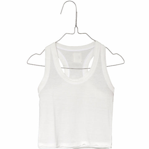 Little Creative Factory Baby Racerback Tank Off-White