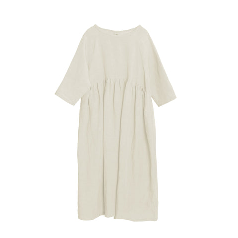 Little Creative Factory Long Desert Girl's Dress in Ivory | BIEN BIEN