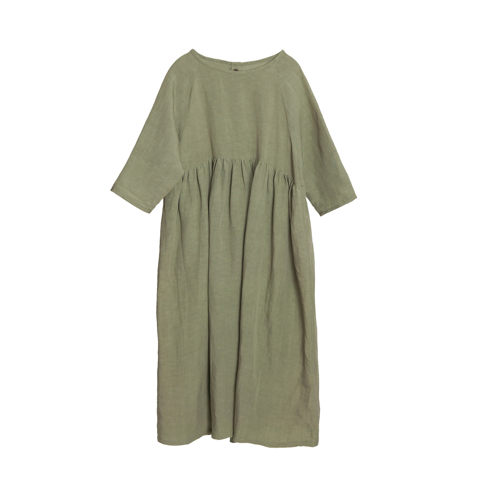 Little Creative Factory Long Desert Girl's Dress in Cactus | BIEN BIEN