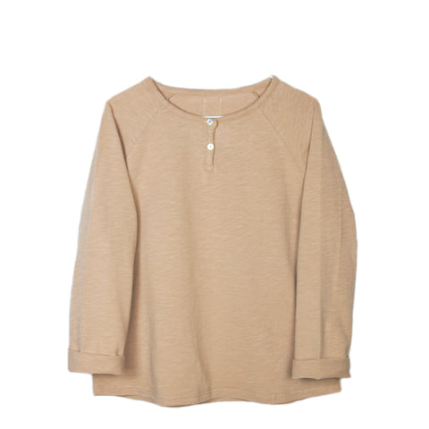 Le Petit Germain Floo Long Sleeve T-Shirt in Baby Cheeks | BIEN BIEN