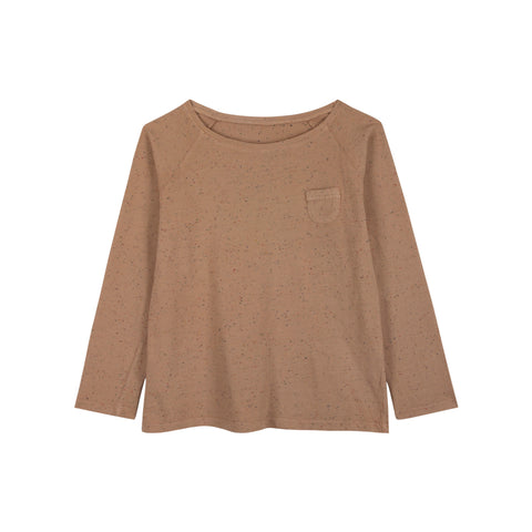 Le Petit Germain Spot Unisex Baby & Kid's Long Sleeve Tee Powder | BIEN BIEN www.bienbienshop.com
