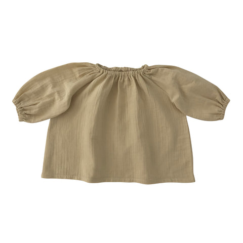 Liilu Baby & Kid's Blouse Honey Organic Cotton | BIEN BIEN www.bienbienshop.com