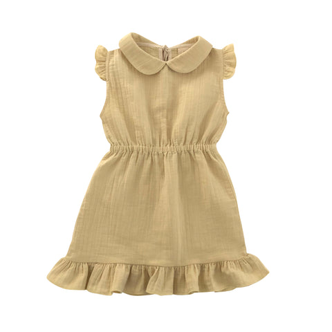 Liilu Penelope Baby & Kid's Dress Honey Organic Cotton | BIEN BIEN www.bienbienshop.com