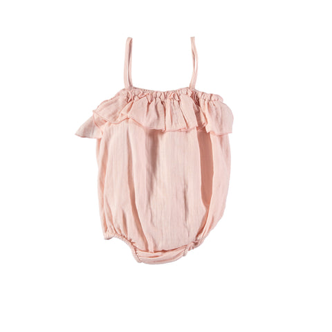 Liilu Sunsuit Light Pink | Organic Cotton | BIEN BIEN www.bienbienshop.com