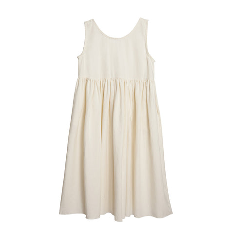 Little Creative Factory Nomad Girl's Dress in Ivory | BIEN BIEN
