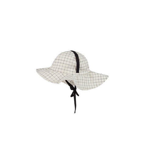 Little Creative Factory Tateyoko Baby Sun Hat Checked | BIEN BIEN www.bienbienshop.com