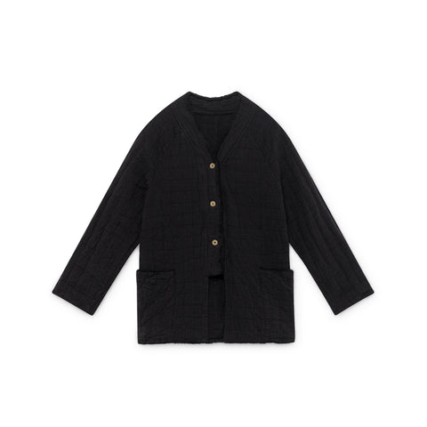 Little Creative Factory Menka Kid's Long Jacket Black | BIEN BIEN www.bienbienshop.com