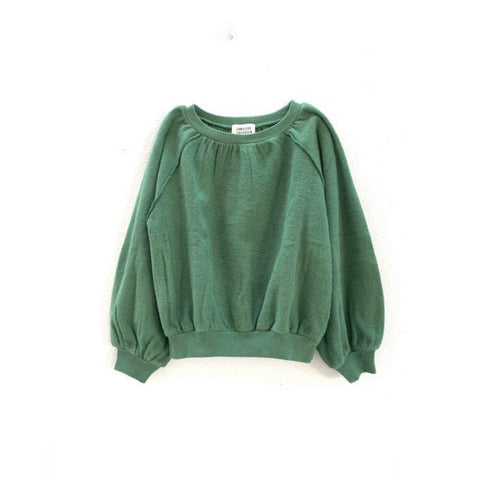 Long Live the Queen Terry Blouson Kid's Sweatshirt Green | BIEN BIEN www.bienbienshop.com