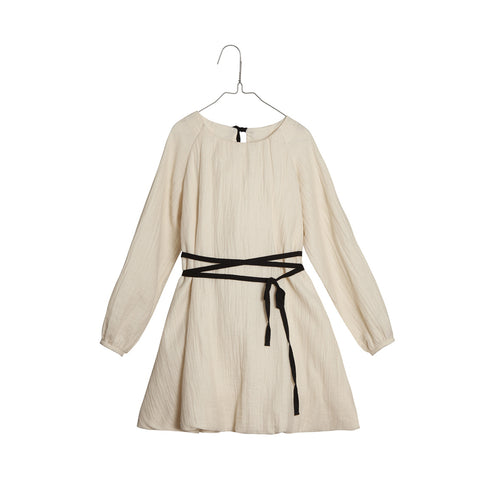 Little Creative Factory Girl's Sack Dress in Cream | BIEN BIEN