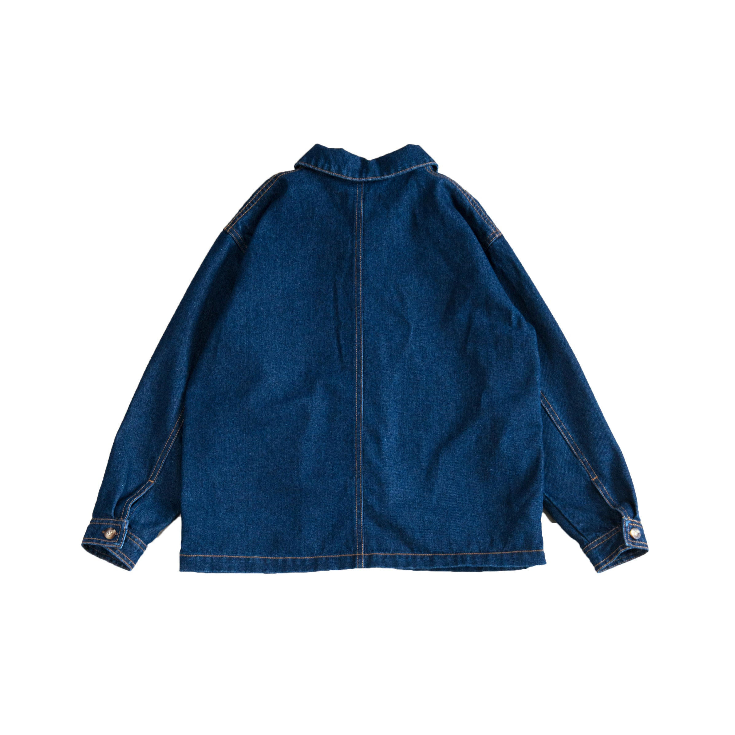 Main Story Artiste Kid's Unisex Jacket Dark Denim Wash | BIEN BIEN bienbienshop.com