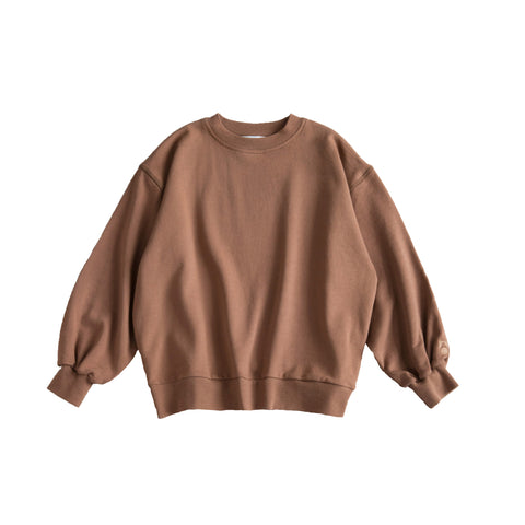Main Story Kid's Unisex Oversized Sweatshirt Earth | BIEN BIEN