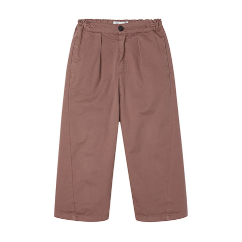 Main Story Kid Unisex Barrel Chino Trouser Rose Taupe | BIEN BIEN bienbienshop.com
