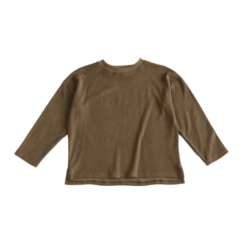 Main Story Kid's Unisex Long Sleeve Tee Terry Butternut | BIEN BIEN bienbienshop.com