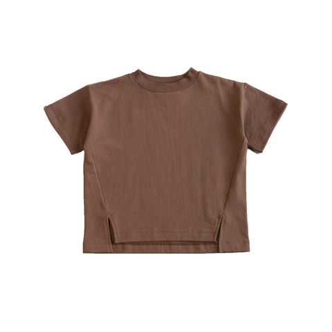 Main Story Kid's Unisex Sweat Tee Organic Fleece Earth| BIEN BIEN bienbienshop.com