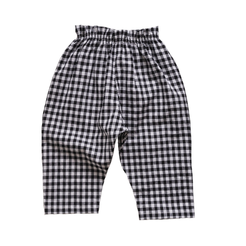 Makié Vanessa Baby Pant in Black/White Gingham | BIEN BIEN