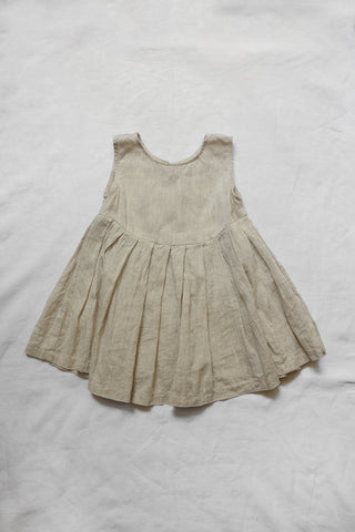 Makié Lulu Kid's Sleeveless Camisole Natural Linen SALE  | BIEN BIEN bienbienshop.coma