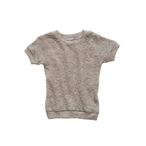 Makié Ivy Baby & Kid's Short Sleeve T-Shirt in Grey  | BIEN BIEN