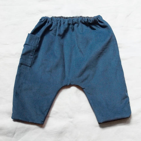 Makié Lump Corduroy Baby Pants in Blue | BIEN BIEN