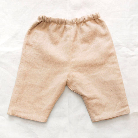 Makié Jade Baby Pants with Lining in Beige | BIEN BIEN