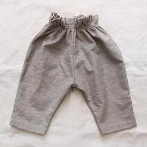 Makié Luna Corduroy Baby Pants in Light Grey | BIEN BIEN
