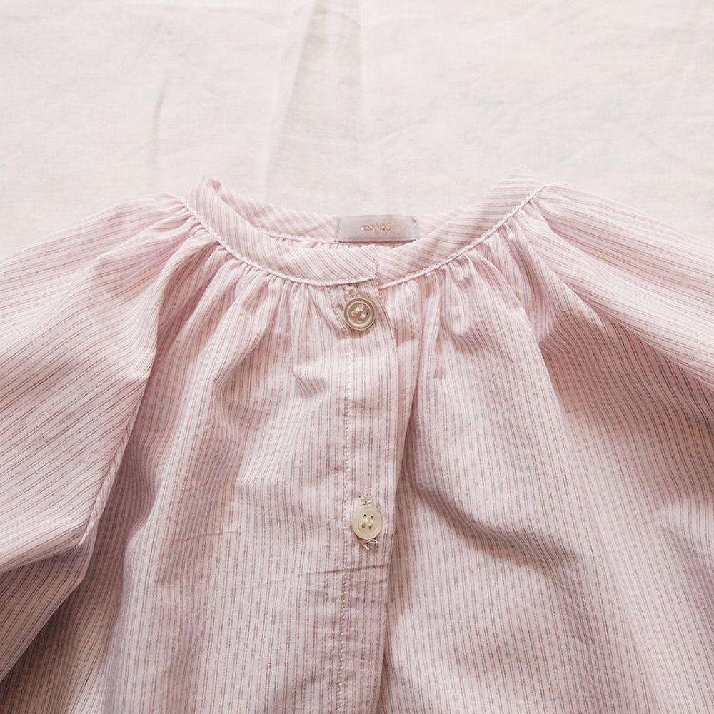 Makié Allison Baby Girl Blouse in Red Stripe | BIEN BIEN