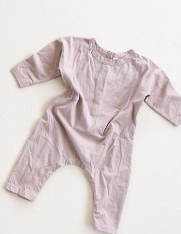 New - Millk Australia Basic Baby & Kid's Cotton Long Sleeve Pantsuit Skin | BIEN BIEN www.bienbienshop.com