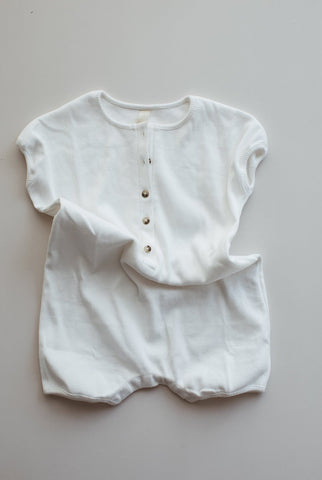 Millk Weekly Baby & Kid's Playsuit in Cream | BIEN BIEN