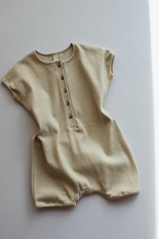 Millk Australia Weekly Baby & Kid's Playsuit in Moss | BIEN BIEN