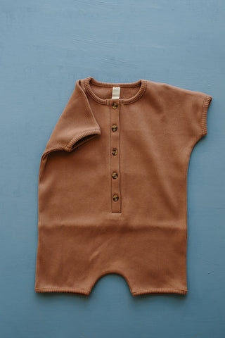 Millk Australia Baby & Kid's Weekly Playsuit in Mushroom | BIEN BIEN