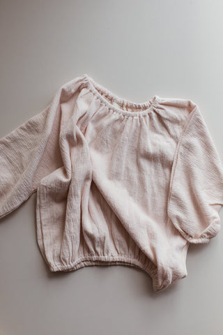 Millk Australia Daily Baby Girl & Kid's Pullover in Rose | BIEN BIEN