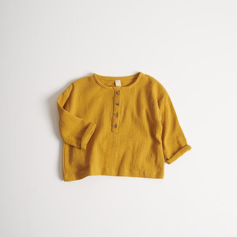Millk Australia Daily Long Sleeve Top in Golden | BIEN BIEN