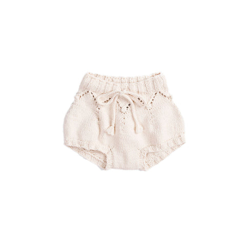 Misha & Puff Barnacle Baby Girl/Girl's Bloomer in Natural | BIEN BIEN