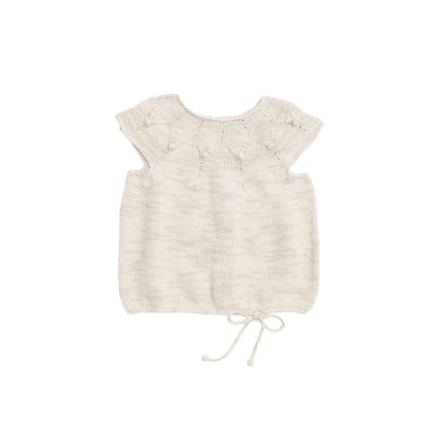 Misha & Puff High Tide Baby Girl/Girl's Top in Natural | BIEN BIEN