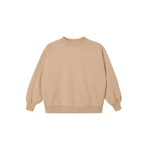 Main Story Kid's Oversized Sweatshirt Beige Plaster New | BIENBIEN