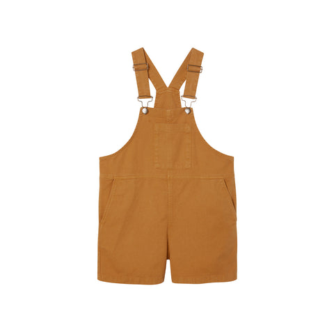 Main Story Kid's Slouchy Shortall Dungaree Cinnamon New | BIENBIEN
