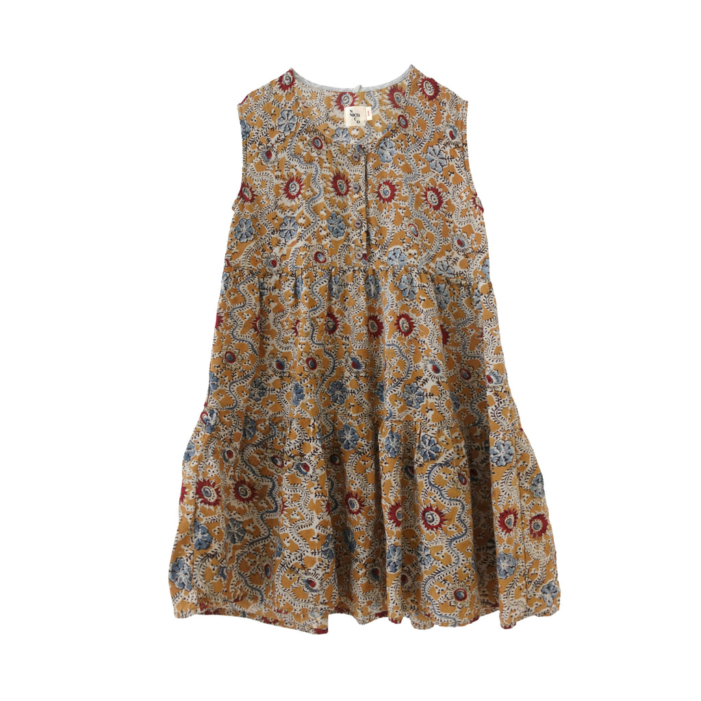 Nico Nico Evelyn Kid's Tiered Sundress Wilde Flower | BIEN BIEN www.bienbienshop.com