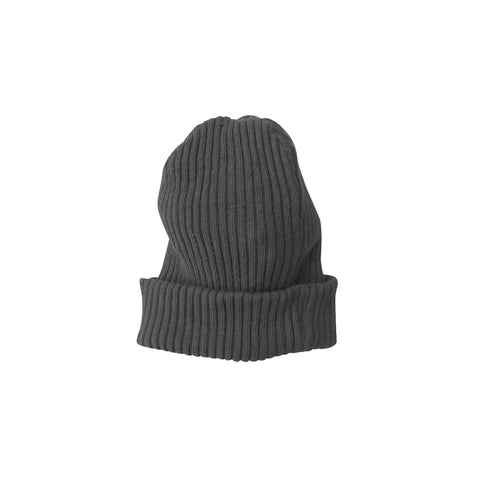 New Nico Nico Wood Kid's Beanie Dark Carbon Grey | BIEN BIEN