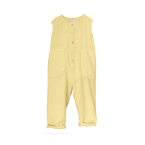 NEW Nico Nico Julez Kid Sleeveless Jumpsuit Sunrise Yellow | BIEN BIEN