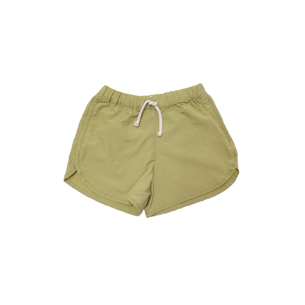 NEW Nico Nico Zeb Kid's Runner Short Gold Nylon | BIEN BIEN
