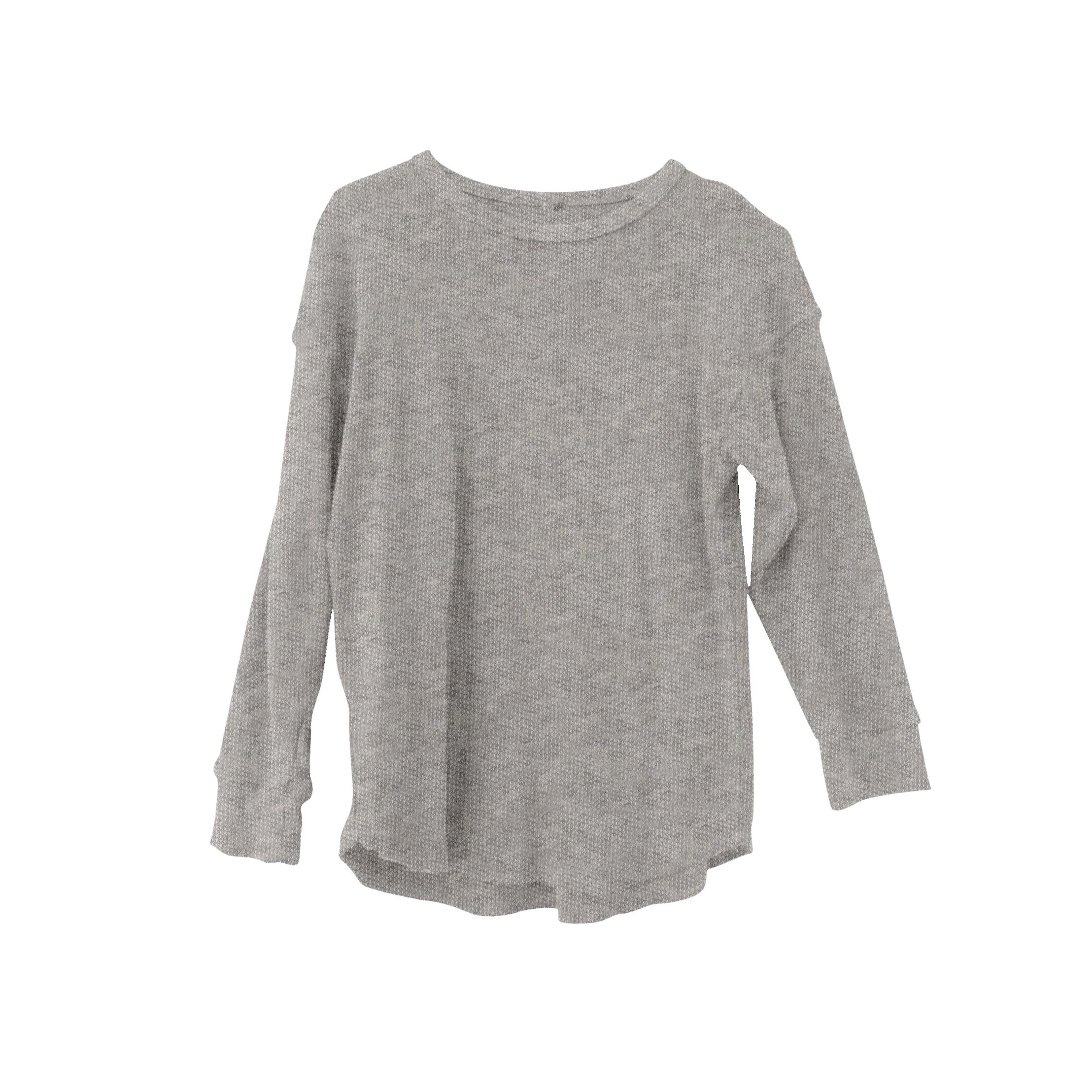 New Nico Nico Cameryn Kid's Long Sleeve Tee Heather Grey | BIEN BIEN
