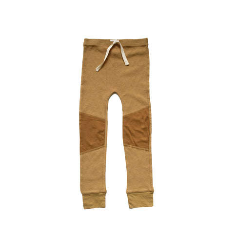 Nico Nico Cypress Kid's Thermal Legging Curry | BIEN BIEN www.bienbienshop.com