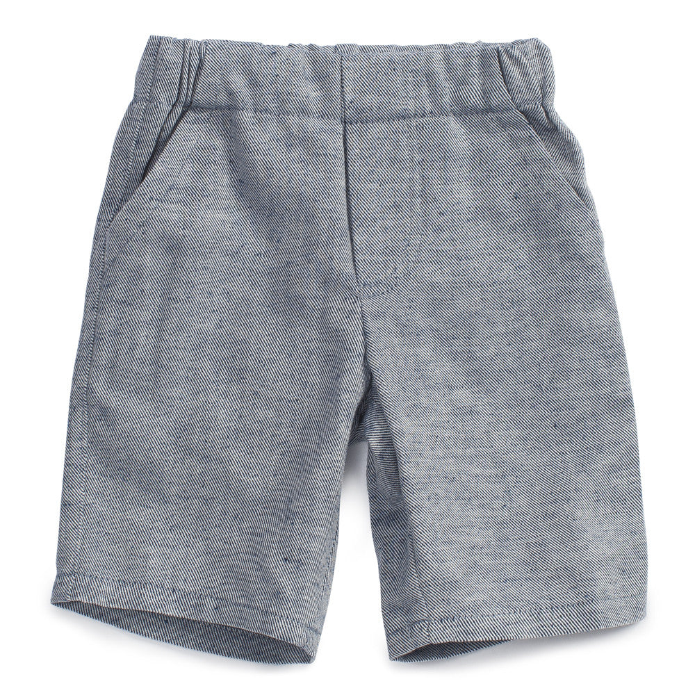 Noch Mini Bermuda Short Navy Twill