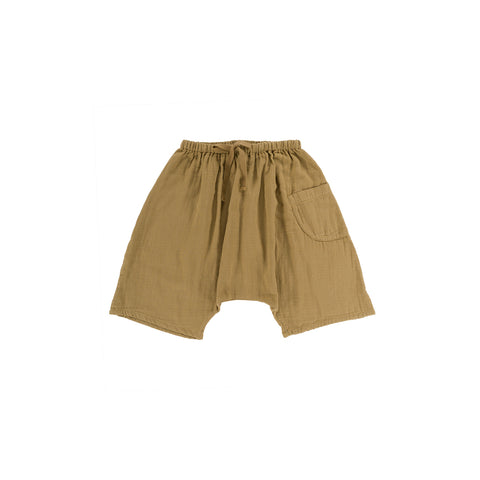 Omibia Tommy Baby & Kid's Organic Cotton Short Light Oak | BIEN BIEN www.bienbienshop.com