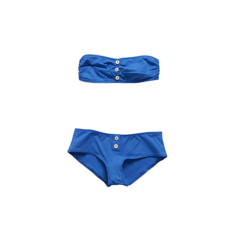 Pacific Rainbow Marnie Girl's Swimsuit in Bleu Electrique | BIEN BIEN