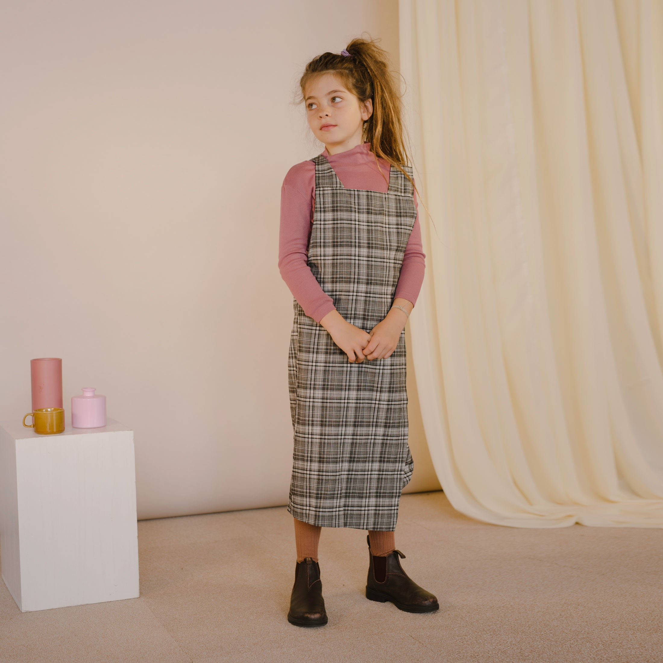 Kid's Wrap Dress