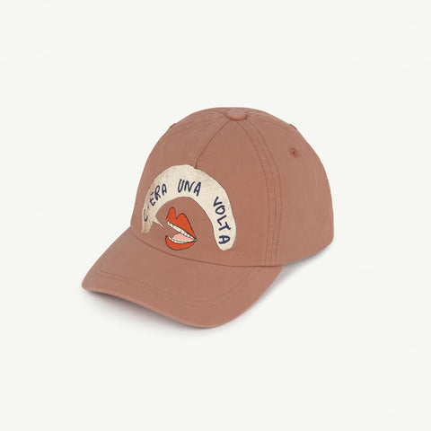 The Animals Observatory Hamster Kid's Cap Brown Mouth NEW | BIEN BIEN
