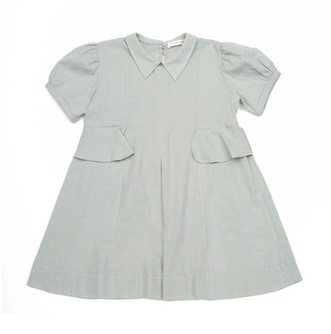 Soor Ploom Celia Baby & Girl's Dress in Moonstone | BIEN BIEN